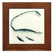Elasmosaurus Framed Tile