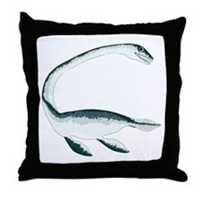 Elasmosaurus Throw Pillow