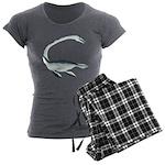 Elasmosaurus Women's Charcoal Pajamas