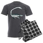 Elasmosaurus Men's Charcoal Pajamas