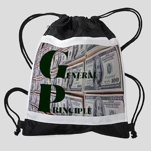 GENERAL PRINCIPLE(MONEY WALL) Drawstring Bag
