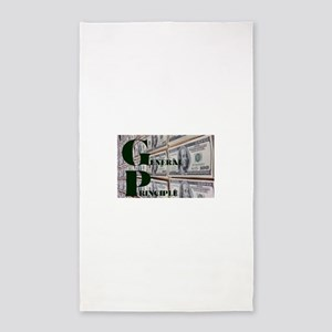 GENERAL PRINCIPLE(MONEY WALL) Area Rug