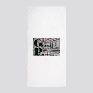 GENERAL PRINCIPLE(MONEY WALL) Beach Towel