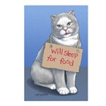 Sleep for Food Postcards (Package of 8)