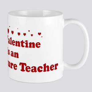 Valentine: Agriculture Teache Mug
