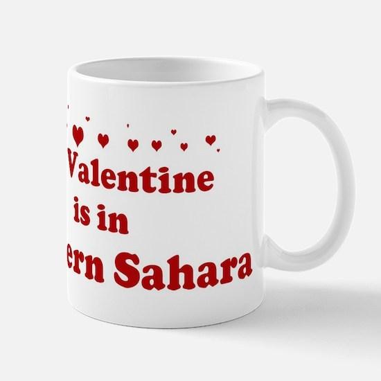 Valentine in Western Sahara Mug