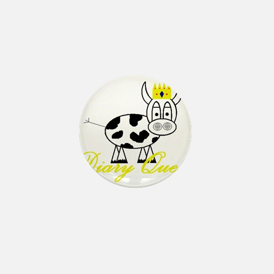 Cute Dairy cow Mini Button