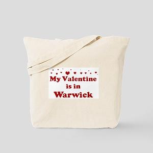 Valentine in Warwick Tote Bag