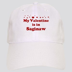 Valentine in Saginaw Cap