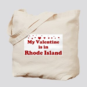 Valentine in Rhode Island Tote Bag