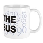 I Love The Census Mug