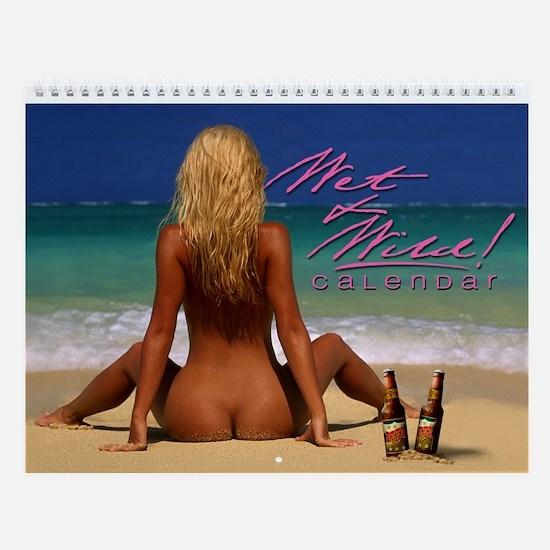 """Sam Maxwell's """"Wet & Wild"""" Swimsuit Wall Calendar!"""