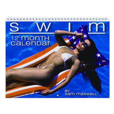 "Sam Maxwell's ""SWIM"" Swimsuit Pinup Wall Calendar!"