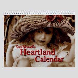 "Sam Maxwell's ""Heartland Kids"" Wall Calendar!"