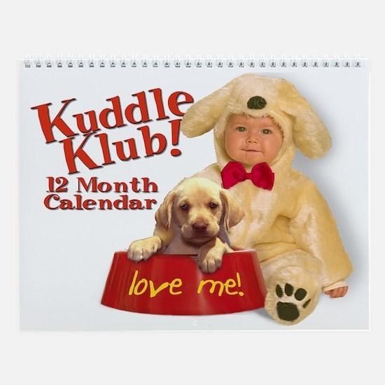 "Sam Maxwell's ""Kuddle Klub"" Calendar Print"