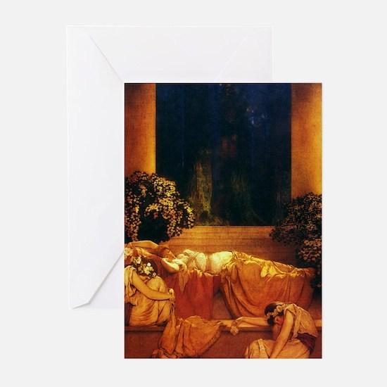 Maxfield Parrish Sleeping Beauty Cards (Pk of 10)