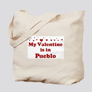 Valentine in Pueblo Tote Bag