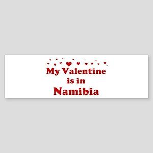 Valentine in Namibia Bumper Sticker