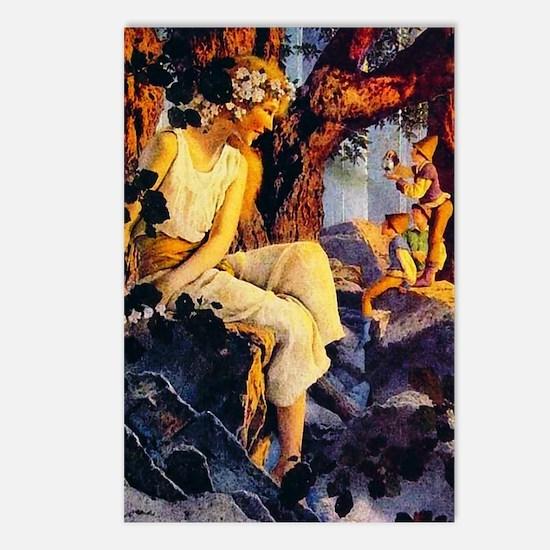 Maxfield Parrish La Parfum Postcards (Pkg of 8)