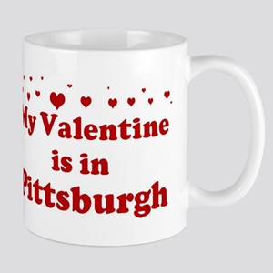 Valentine in Pittsburgh Mug