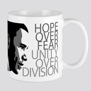 Obama - Hope Over Division - Grey Mug