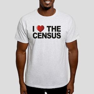 I Love The Census Light T-Shirt