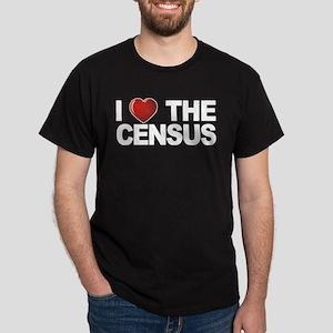 I Love The Census Dark T-Shirt