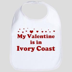 Valentine in Ivory Coast Bib