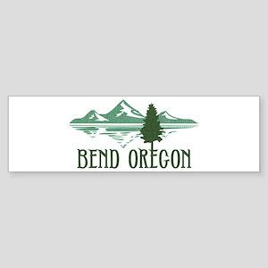 Bend Mountains & Tree Sticker (Bumper)