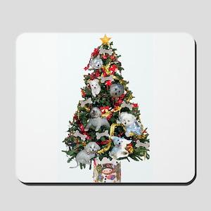 Merry Maltese Christmas Shop Mousepad