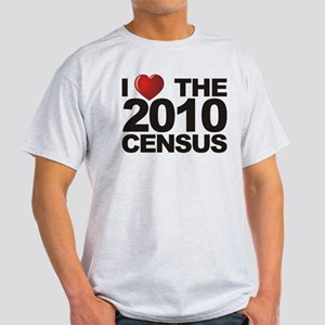 I Love The 2010 Census Light T-Shirt