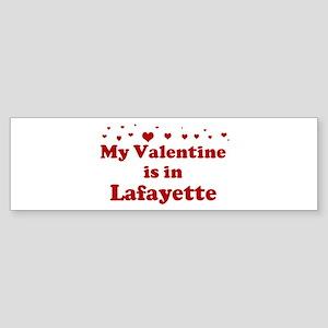 Valentine in Lafayette Bumper Sticker