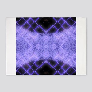 A Psychedelic Magical Rune Spell 5'x7'Area Rug