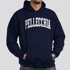 Pellecchia Collegiate Style Name Hoodie (dark)