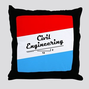 Civil Slope Throw Pillow