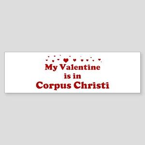 Valentine in Corpus Christi Bumper Sticker
