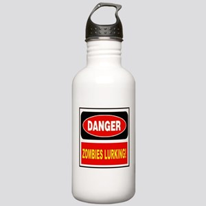 Danger Zombies Lurking! Water Bottle