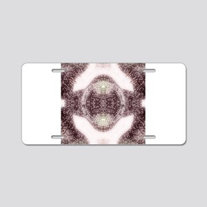 A Psychedelic Magical Rune Aluminum License Plate