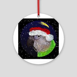 Christmas Night Senegal Parrot Christmas Ornament