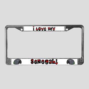 Anime Senegal License Plate Frame