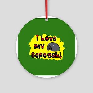 Anime Senegal Ornament (Round)