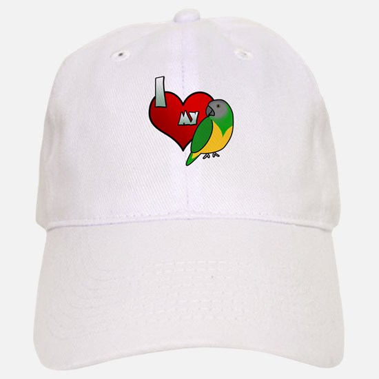 I Love my Senegal Hat (Cartoon)