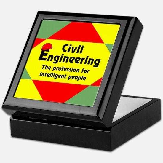 Smart Civil Engineer Keepsake Box