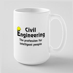 Smart Civil Engineer Large Mug