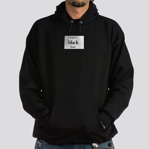 I want a Black baby Hoodie (dark)