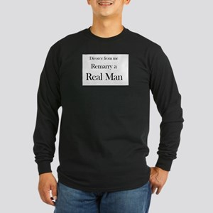 Divorce from me and re-marry Long Sleeve Dark T-Sh