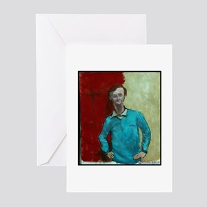"Faces ""Modigliani"" Greeting Cards (Pk of 10)"