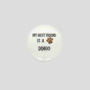 My best friend is a DINGO Mini Button