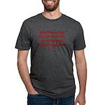 Rhyming Judge Brett Mens Tri-blend T-Shirt