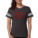 Rhyming Judge Brett Womens Football Shirt